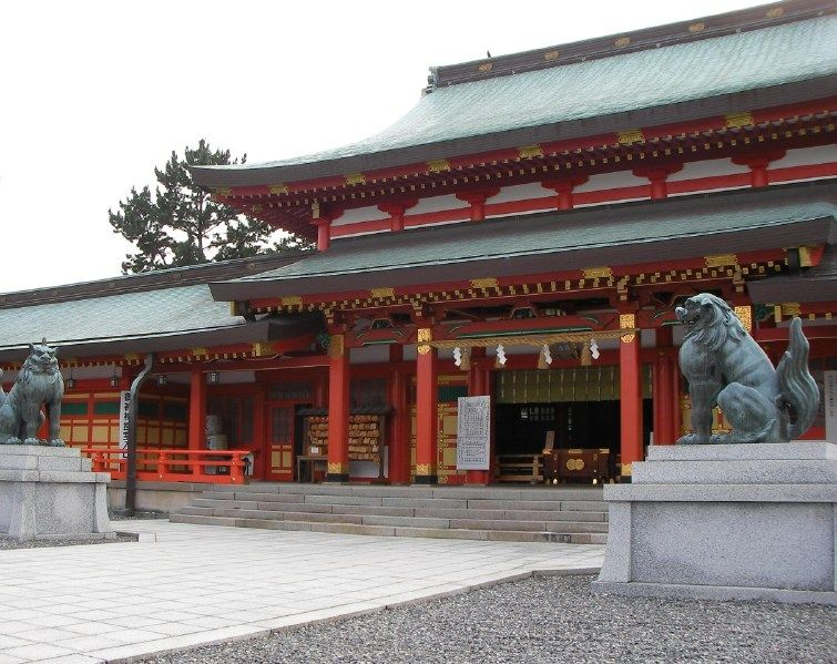 五社神社・諏訪神社 - Wikipedia