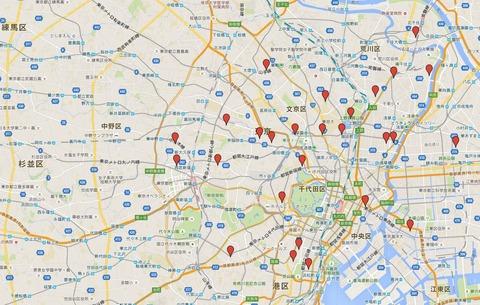 江戸二十五天神 - よく言われるのに資料のない不思議な菅公巡拝、東京の代表的な天満宮