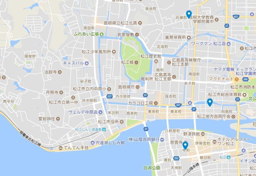 松江の三大稲荷とは?のキャプチャー