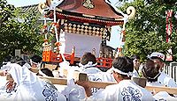 粟島神社(宇佐市) - 7月には3000発の打上花火と海上パレードがある宇佐市みなと祭り