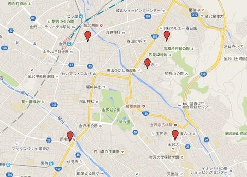 金沢五社 - 古都金沢に加賀前田家が張り巡らした霊的結界、現在では強力なパワースポット