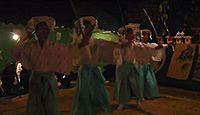 重要無形民俗文化財「高原の神舞」 - 他に例を見ない、剣先を握り振り回すなど勇壮な神楽のキャプチャー
