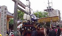 北桑名神社 三重県桑名市堤原のキャプチャー