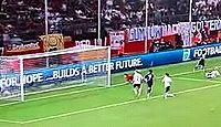 なでしこジャパン延長戦、丸山のゴールでドイツに勝利 - 女子W杯ドイツ大会2011年準々決勝のキャプチャー