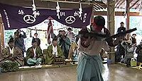 重要無形民俗文化財「土佐の神楽」 - 今日一般的な神楽よりも一時代前の要素ものキャプチャー
