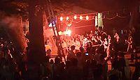 加茂神社(長野市西長野) - 初代善光寺大本願上人が下鴨社を勧請、例大祭は花火奉納