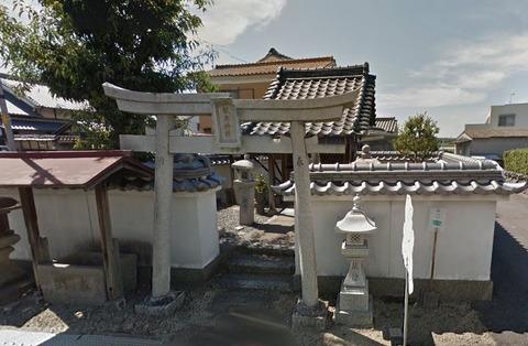 松本神社 京都府城陽市奈島のキャプチャー