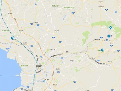 延喜式神名帳 肥後国の式内社 4座のキャプチャー