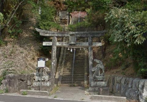 奥宇賀神社 島根県出雲市奥宇賀町1387