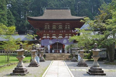 世界遺産・丹生都比売神社で本殿修復、天岩戸に関わる神様のお住まい37年ぶり改修のキャプチャー