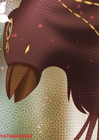 八咫烏 - 三本足じゃねーよ 便利な道案内のカラス【ぶっちゃけ古事記のキャラ図鑑】のキャプチャー