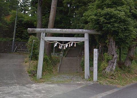 六所神社 静岡県掛川市上垂木のキャプチャー