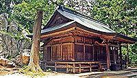 鹿島神社(郡山市西田町) - 奈良期に勧請、境内には純白の巨大なペグマタイト岩脈