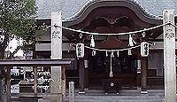 元伊勢「名方浜宮」伝承地の一つである伊勢神社(岡山県岡山市北区番町)