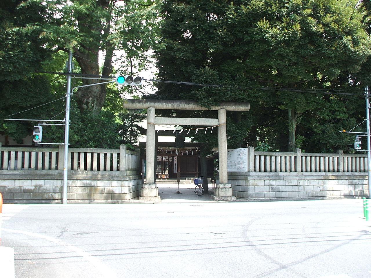 川越総鎮守 氷川神社 - Wikipedia