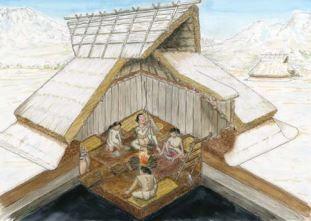 幅・津留遺跡(熊本県・南阿蘇村) - 東西にはじまりの違う二つの弥生ムラがある環濠集落のキャプチャー