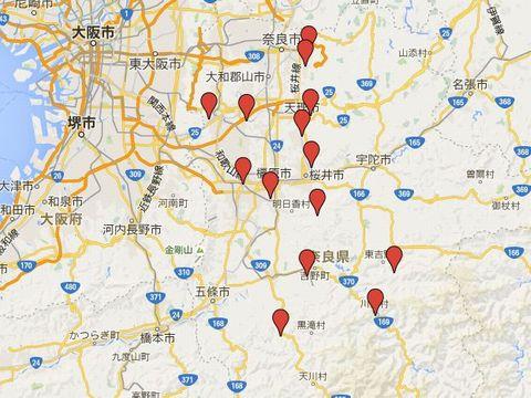 奈良県の別表神社