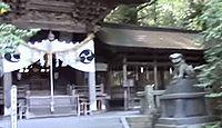 矢彦神社 - 小野神社と同じ社叢に隣接、例祭や式年御柱大祭を合同で行う、四本殿の形式