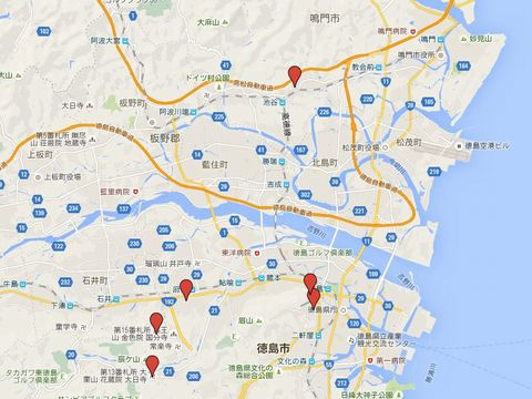 徳島県の旧県社のキャプチャー