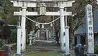 熊野神社(友坂) - 越中国一宮・高瀬神社と並ぶ古社、白鳥神社とも 謙信侵攻で神域灰燼