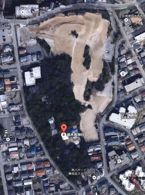 越木岩神社の磐座がマンション開発で爆破粉砕、ニュースまとめ、られない - 西宮市のキャプチャー