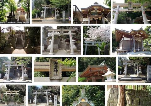御霊神社 神奈川県横須賀市佐原のキャプチャー