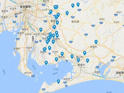 延喜式神名帳 三河国の式内社 26座のキャプチャー