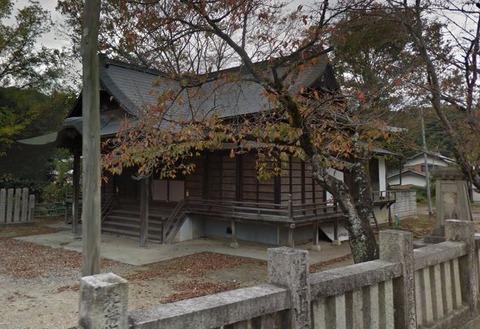 建神社 徳島県美馬郡つるぎ町半田のキャプチャー
