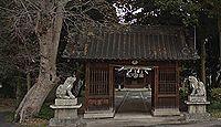 雲氣八幡宮 - もとは八幡宮と雲氣神社が鎮座、戦国期に焼失、江戸期に両社を合祀再興