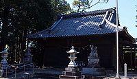 乎豆神社 静岡県浜松市北区細江町中川