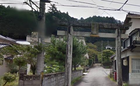 二宮神社 島根県浜田市三隅町三隅のキャプチャー