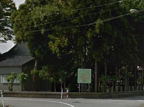 楢本神社 石川県白山市上柏野町のキャプチャー