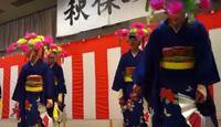 重要無形民俗文化財「秋保の田植踊」 - 小中学生の女子や男子による五穀豊饒を願う踊りのキャプチャー
