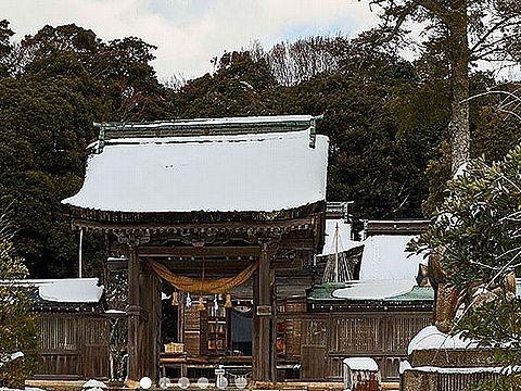 石川県の神社のキャプチャー