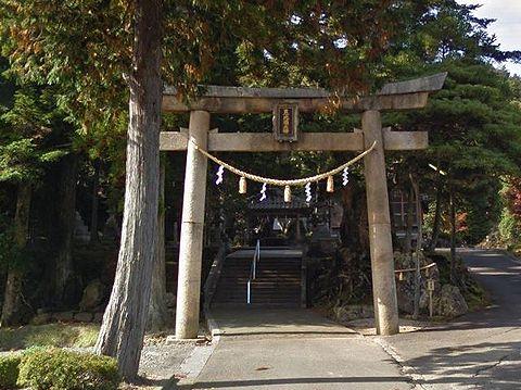 須部神社 福井県三方上中郡若狭町末野のキャプチャー