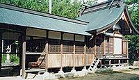鵜江神社 岡山県小田郡矢掛町小林