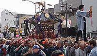 諏訪神社(立川市柴崎町) - 『聖☆おにいさん』の舞台の一つ、創建1200年の古社