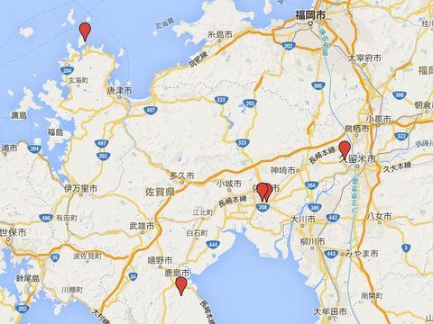 佐賀県の別表神社のキャプチャー