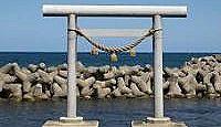 白山神社(名舟町) - 舳倉島・奥津比咩神社の遥拝所、例祭に謙信を敗走させた御陣乗太鼓