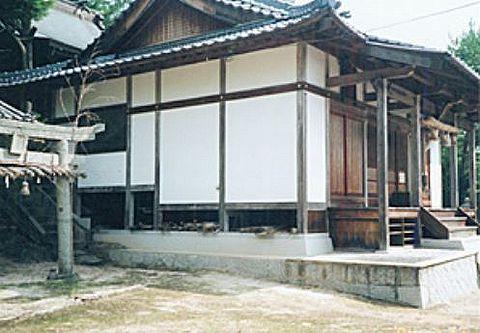 大元鵜江神社 岡山県小田郡矢掛町東川面1806