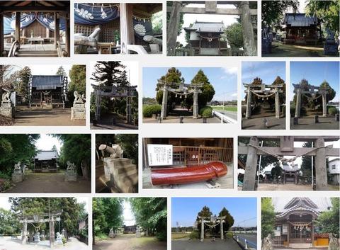 上弓削神社 熊本県熊本市北区龍田町のキャプチャー