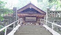 安布知神社 長野県下伊那郡阿智村駒場のキャプチャー