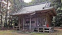 安福河伯神社 - 阿武隈川の神、陸奥亘理郡の四式内社の一つ、本殿は江戸後期の建立