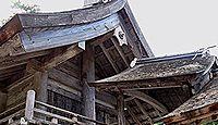 神魂神社 - 意宇六社で唯一の式外社、本殿は最古の大社造りで国宝、末社社殿は重文