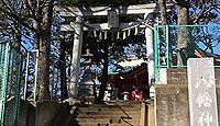 久が原西部八幡神社 東京都大田区久が原4丁目のキャプチャー