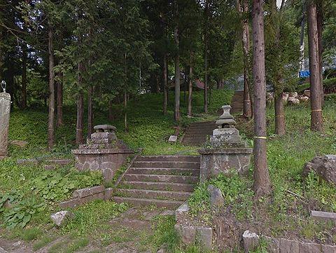 清水神社 長野県長野市信更町三水のキャプチャー