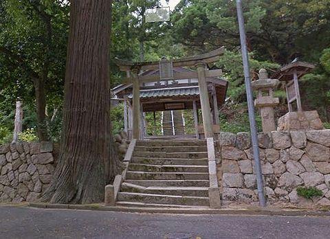 久豆彌神社 福井県敦賀市沓見のキャプチャー