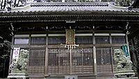 宇賀神社 三重県桑名市多度町柚井