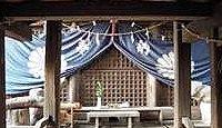 上弓削神社 - 熊本市北区、白川対岸の弓削神社と対、逢瀬を楽しむ男神を祀る弓削法皇社