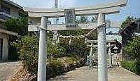 角島八幡宮 - 山口県北西端、角島大橋で本土とつながる角島に室町期創建、江戸期の狛犬
